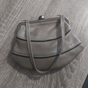 Furla Genuine Leather Kisslock Handbag-NWOT
